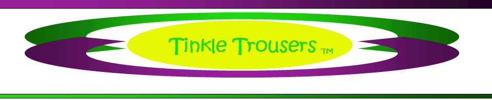 Tinkle Trousers dog diaper logo